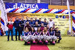 Кубок Мосстрой 2015: Награждение футбольной команды Альпика