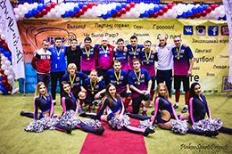 Кубок Мосстрой 2015: Награждение футбольной команды Монтон
