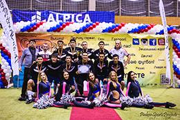 Кубок Мосстрой 2015: Награждение футбольной команды PipePlast