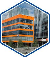 Остекление бизнес центров, офисных зданий