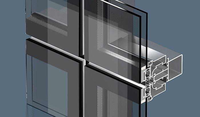 Стеклянный фасад и его преимущества