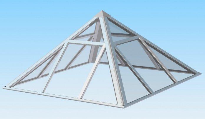 четырёхскатные зенитные фонари