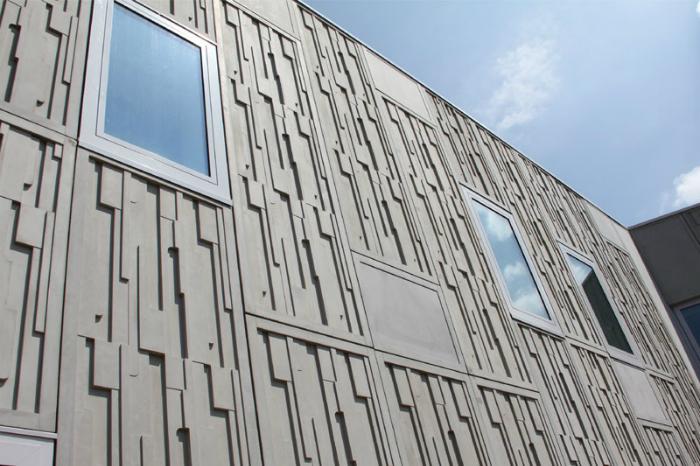 Фасады из фибробетона купить пластичность цементного раствора